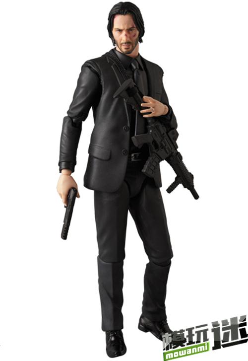Medicom Toy MAFEX系列《疾速追杀2》John Wick 可动人偶