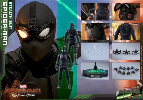 Hot Toys推出《蜘蛛侠: 英雄远征》蜘蛛侠1:6比例珍藏人偶