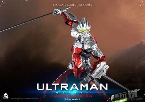 《机动奥特曼》ULTRAMAN(动画版)1/6比例可动人偶