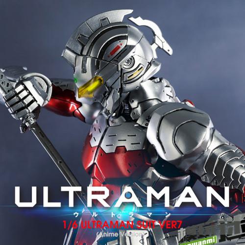 《机动奥特曼》ULTRAMAN(动画版)1/6比例可动人偶 ULTRAMAN SUIT Ver7 NETFLIX 机动奥特曼 资讯  第6张