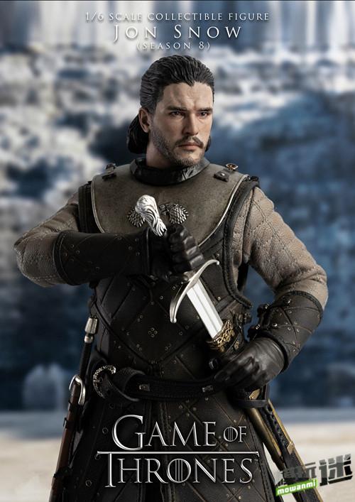《冰与火之歌:权力游戏》公布琼恩·雪诺手办