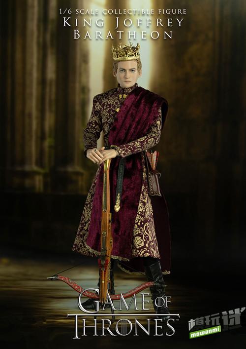 《冰与火之歌:权力游戏》公布乔佛里.拜拉席恩国王手办
