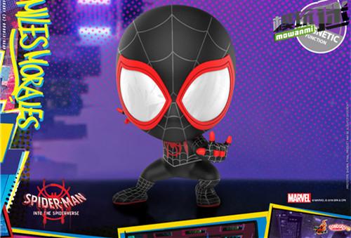 Hot Toys 推出《蜘蛛侠:平行宇宙》COSBABY 迷你珍藏人偶