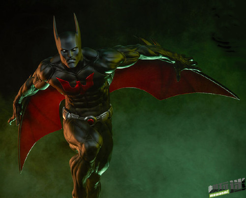 Sideshow公布未来蝙蝠侠  泰瑞·麦金纳斯手办