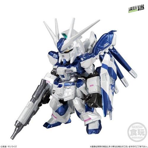 万代推出CORE系列食玩金属色RX-93II牛高达与MSN-04II夜莺