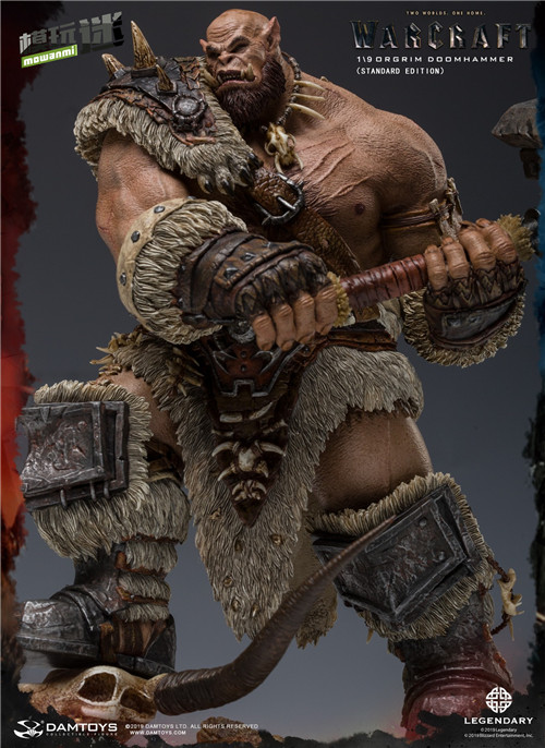 DAMTOYS发布魔兽世界电影版 1/9 奥格瑞姆全身雕像