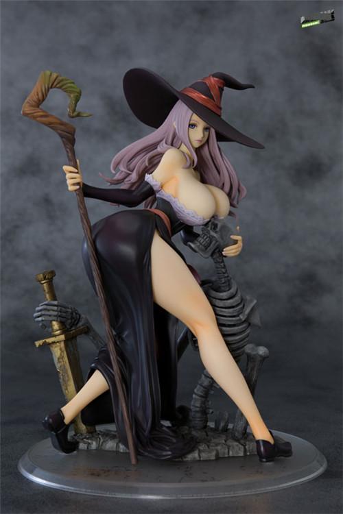 Orchid Seed推出《龙之皇冠》女巫1/7黑暗乌鸦重涂版手办