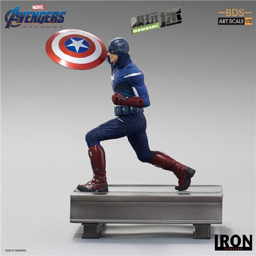 Iron Studios公布《复联4》1:10美队VS美队