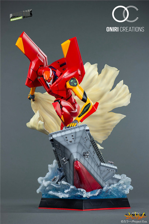 Oniri Creation《新世纪福音战士EVA》「二号机:初登场」雕像