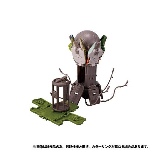 Takara Tomy公开日版Earthrise五面怪官图 鳄鱼精颜色不同