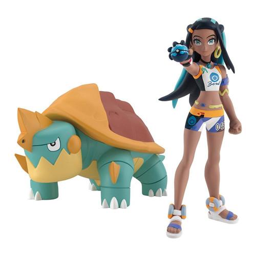 万代推出宝可梦比例世界食玩1/20露璃娜与暴噬龟