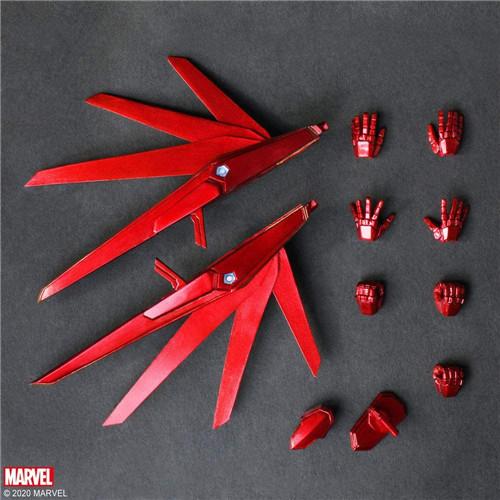 SE推出野村哲也设计MUVBA钢铁侠等三款可动手办