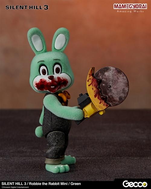 Gecco推出《寂静岭3》罗比兔迷你手办6件套与迷你担架床