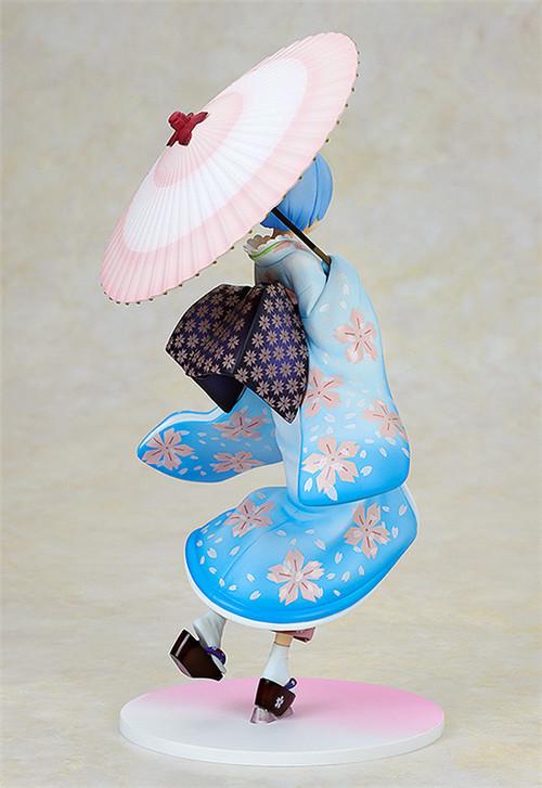 角川推出《从零开始的异世界生活》浮世绘樱版蕾姆1/8手办