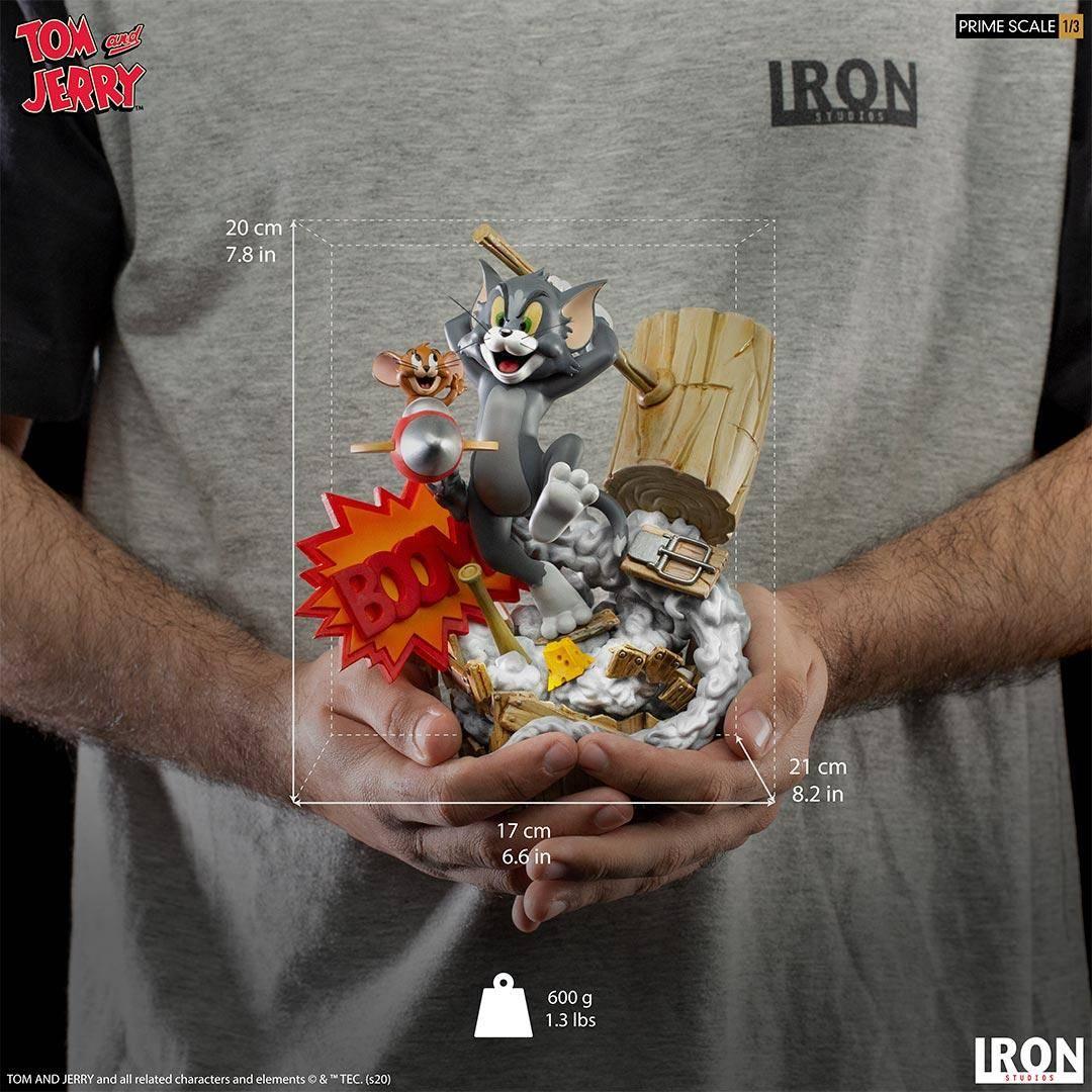 Iron Studios推出新品《猫和老鼠》1/3雕像