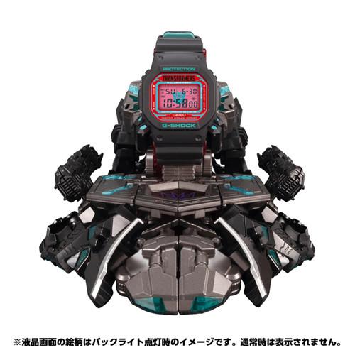 变形金刚联动G-Shock暗黑擎天柱腕表宣布再版