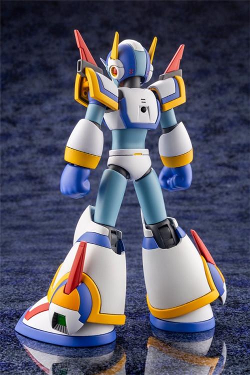 寿屋公开《洛克人X》艾克斯超力装甲1/12可动瓶装模型