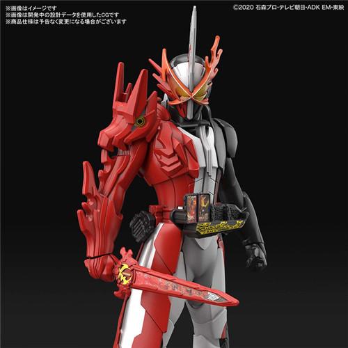 万代公开Entry Grade《假面骑士圣刃》圣刃英勇火龙形态拼装模型