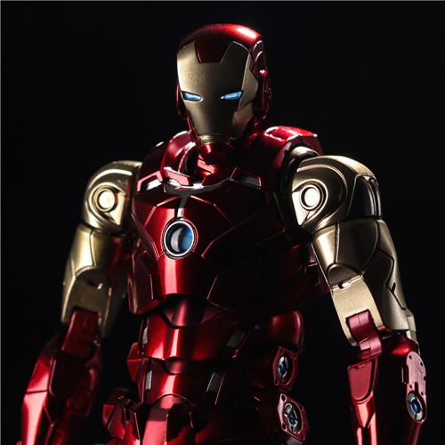 千值练推出新系列Fighting Armor第一弹钢铁侠