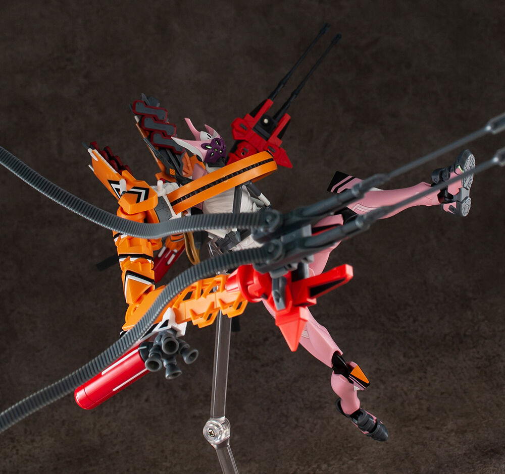 万代推出新品:《新·福音战士剧场版》 EVA 8号机β临时战斗形态模型
