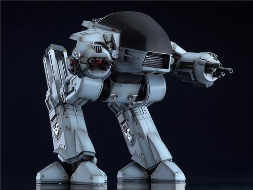 良笑社推出Moderoid《机械战警》ED-209模型