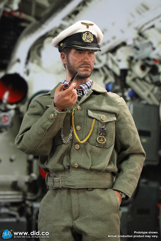 DID推出新品:1/6二战德国U艇艇长海因里希.莱曼 手办
