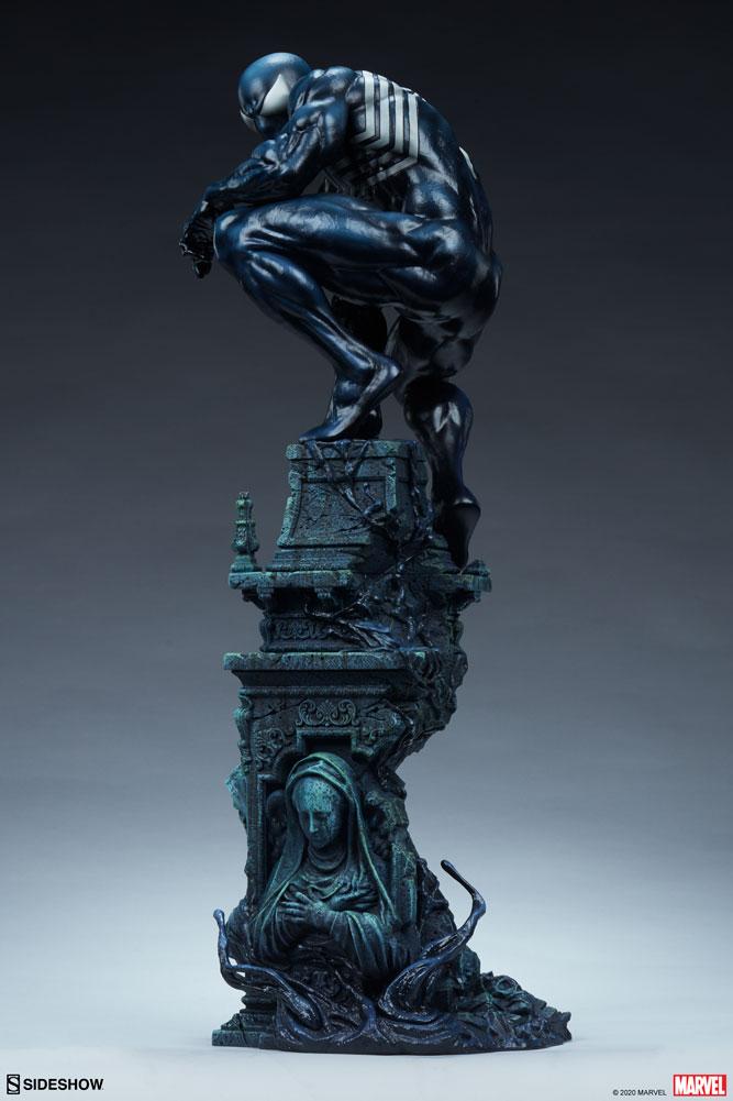 SIDESHOW推出漫威 Symbiote Spider-Man 共生体蜘蛛侠 雕像