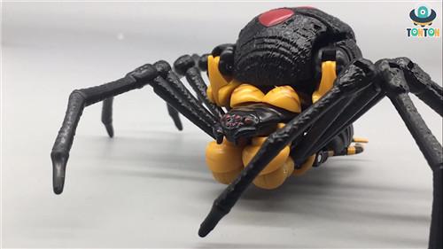 变形金刚Kingdom王国系列毒蜘蛛玩具实物图流出