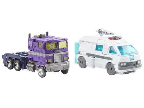 孩之宝推出世代精选地出擎天柱与救护车IDW镜像宇宙版套装