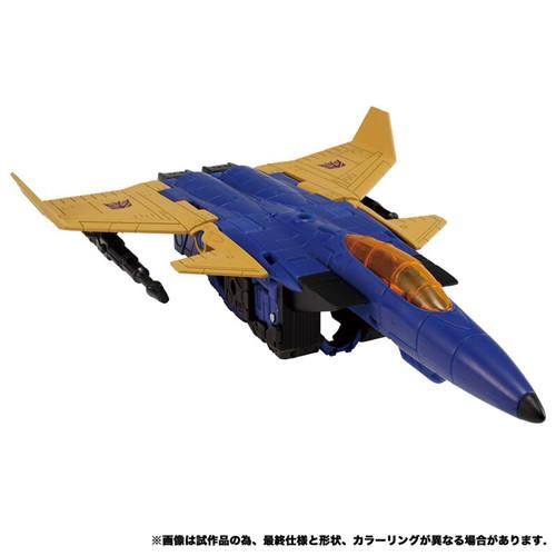 Takara Tomy公开日版变形金刚地出ER EX-19喷气机&挽歌