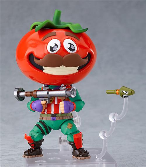 良笑社推出《堡垒之夜》番茄头粘土人
