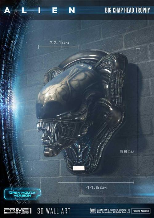 P1S推出《异形》工蜂异形壁挂头雕 全球限量100