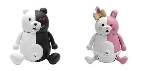 PLM推出《弹丸论破1+2》黑白熊与黑白美公仔