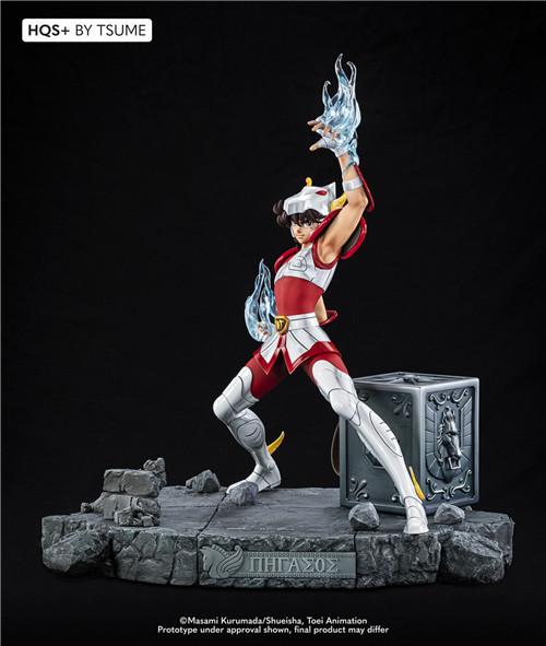 卢森堡雕像厂商推出《圣斗士》星矢1/4雕像 全球限量1800个