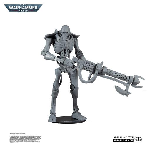 麦克法兰推出《战锤40K》死灵武士可动模型未涂装版